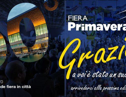 BILANCIO POSITIVO PER LA 50^ FIERA PRIMAVERA   La pista di kart e l'Europam Offroad area incantano il pubblico